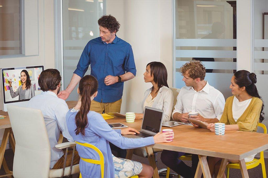 Huddle Room Videokonferenz