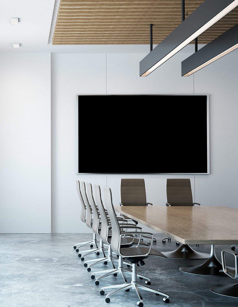Monitor für Videokonferenz