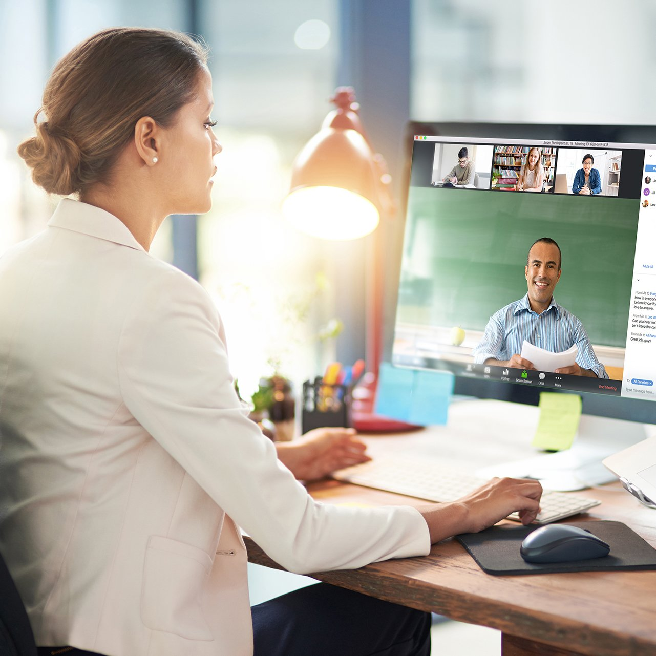 Videokonferenzsoftware Zoomroom Webinare