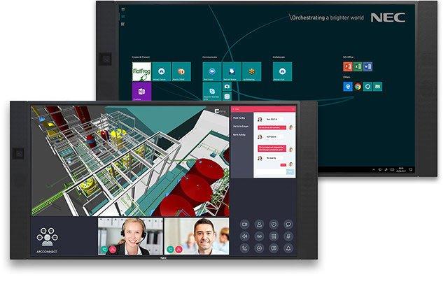 Digitales Whiteboard NEC Infinityboard