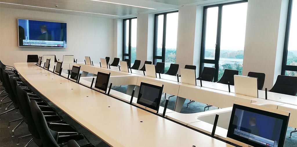 Konferenzraum aus Berlin von PIK AG