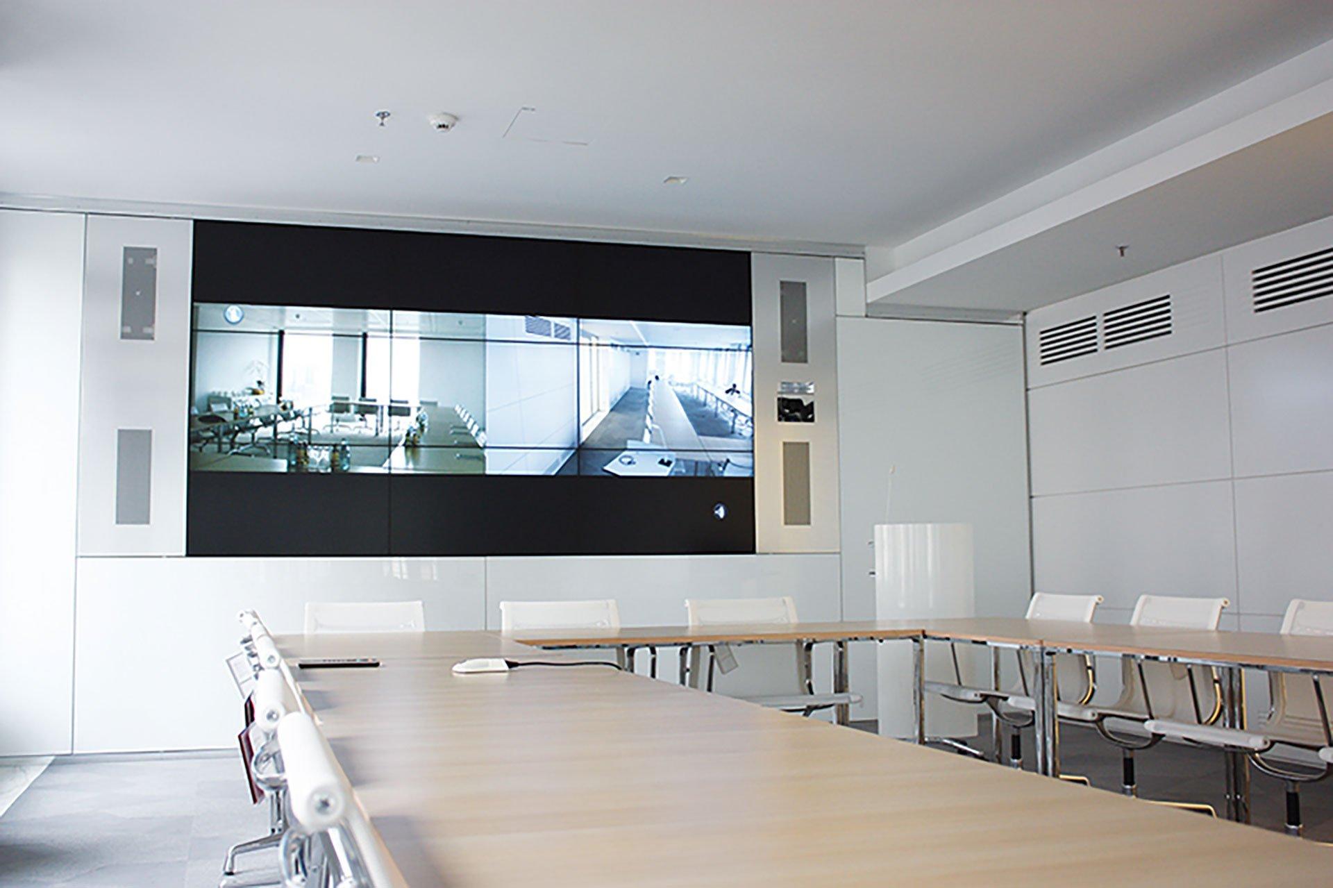 Videotechnik im Konferenzraum