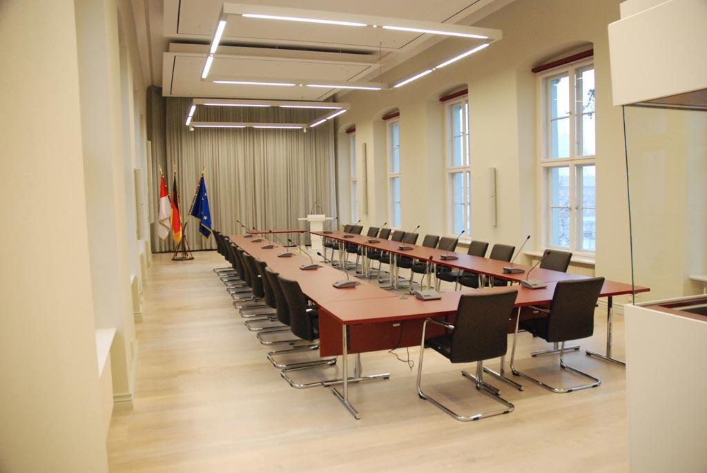 Konferenztechnik Knobelsdorffhaus