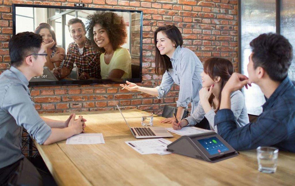 Videokonferenzen sind zeitsparend