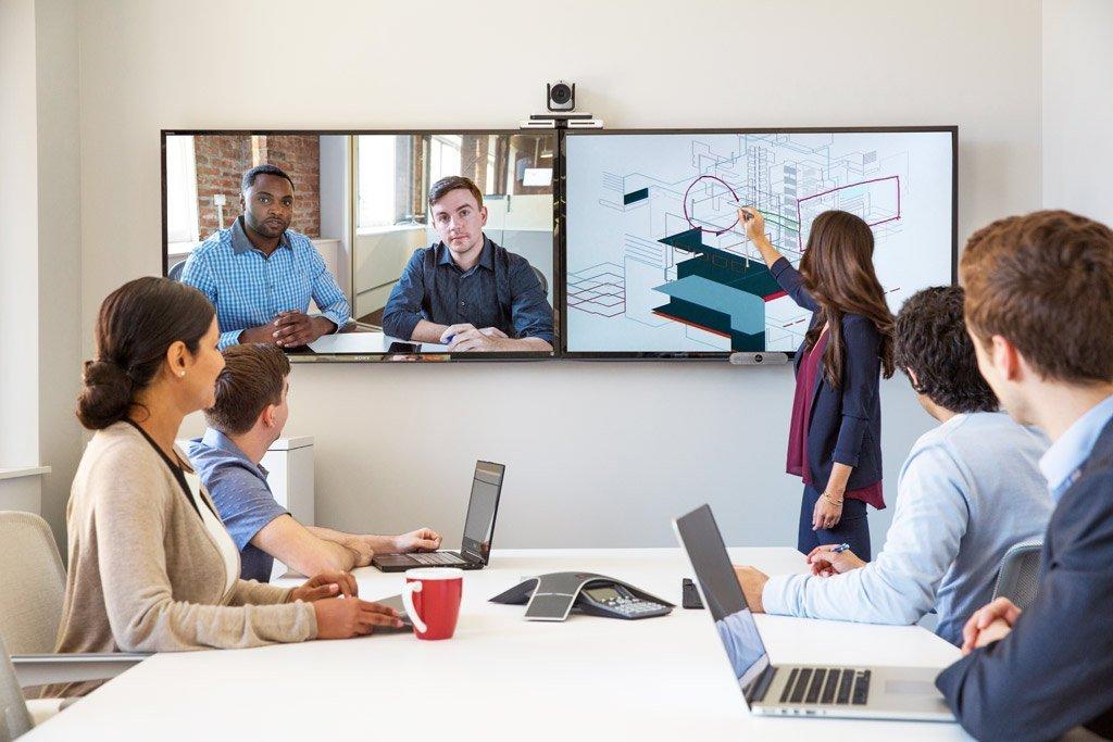 Konferenzraum Videotechnik