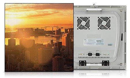 NEC LED Display von beiden Seiten