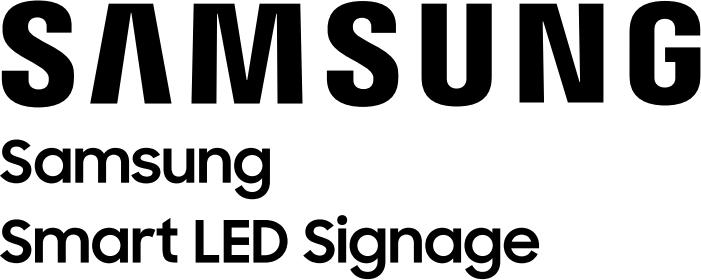 Werbung von Samsung - Smart LED Signage