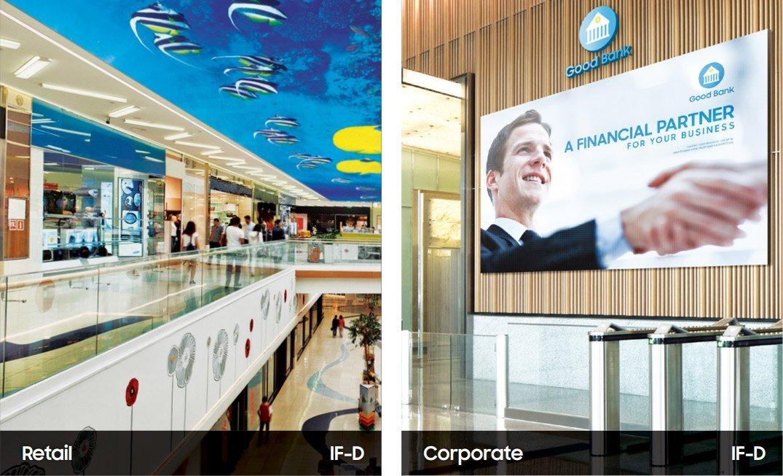 LED Wände im Vergleich zu Corporate und Retail