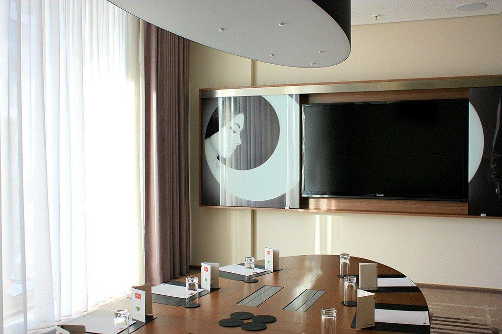 Videokonferenz Raumausstattung