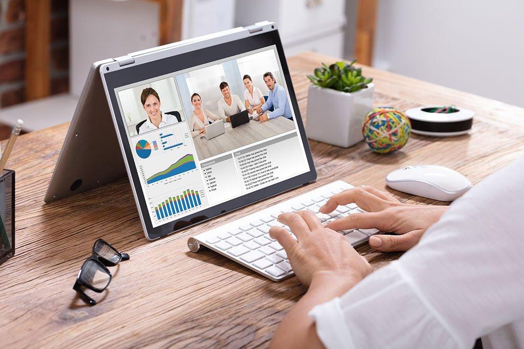 Videokonferenz Desktop