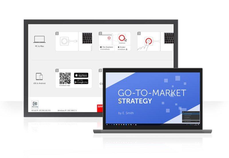 Clickshare Colaboration App