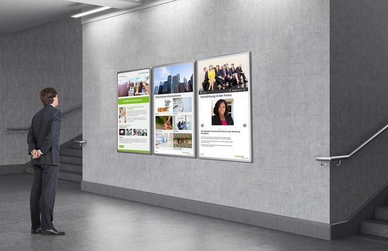 Digitales Schwarzes Brett Das Infoboard Der Zukunft