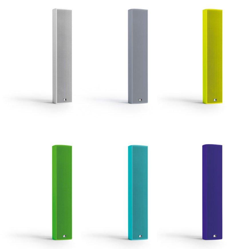 Fohhn Lautsprecher Farben