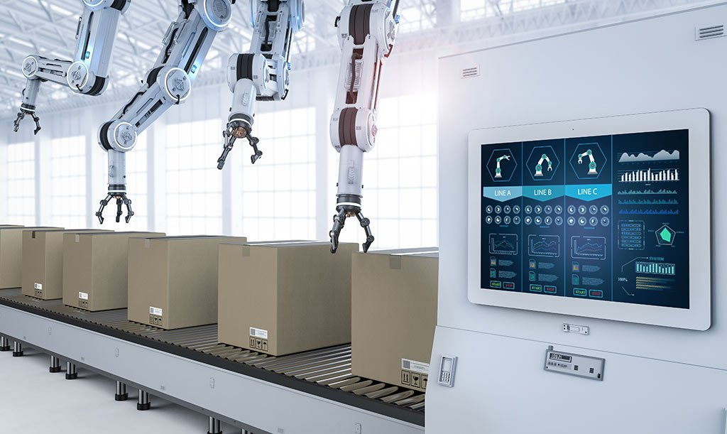 Digital Signage Touch Display Industrie