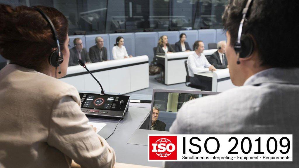 BOSCH Konferenzsystem ISO 20109