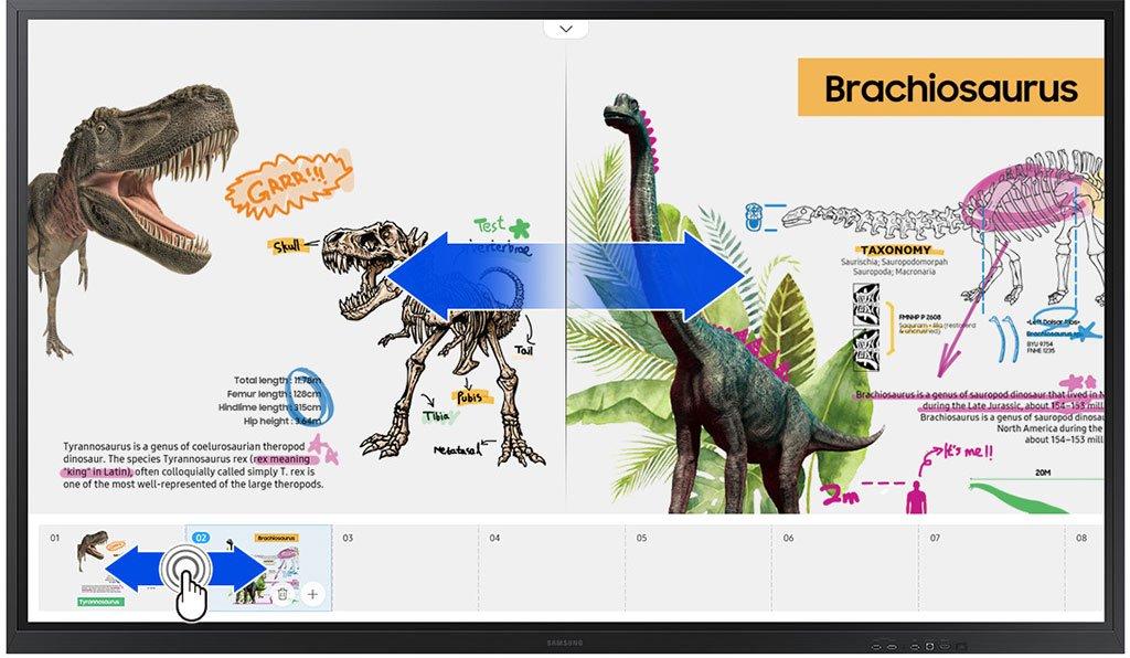 Flip 2 85 Zoll Digitale Seiten