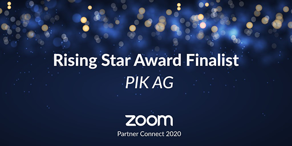 Zoom Rising Star Finalist