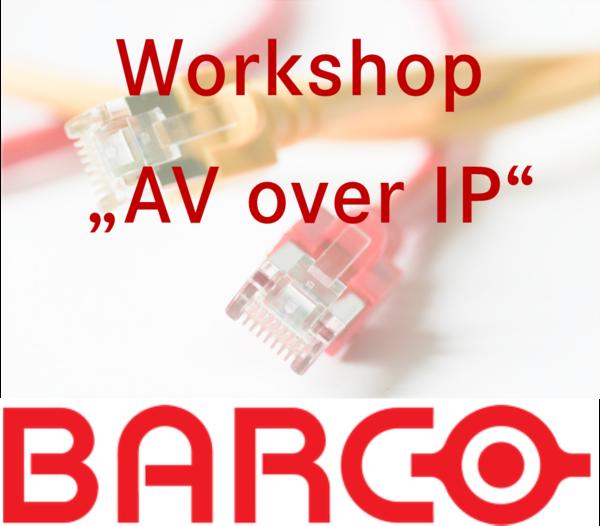 Präsentation Av over IP Barco