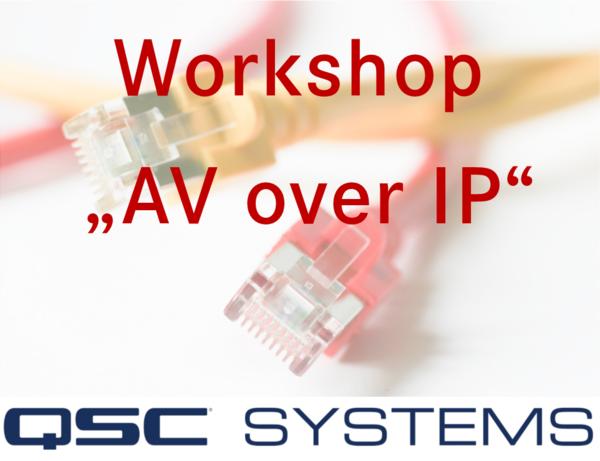 Präsentation AV over IP QSC