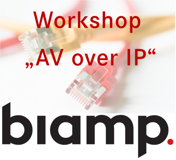 Präsentation AV over IP biamp