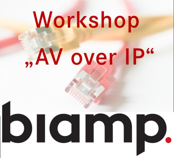 Präsentation AV over IP biamp