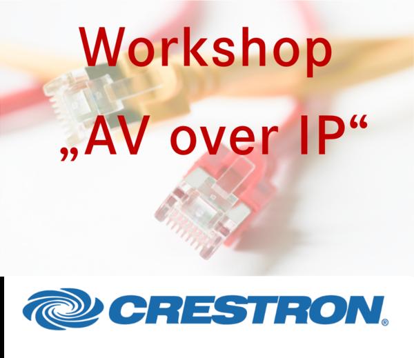 Präsentation AV over IP Crestron