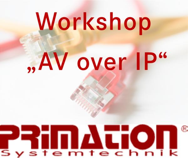 Präsentation AV over IP Primation